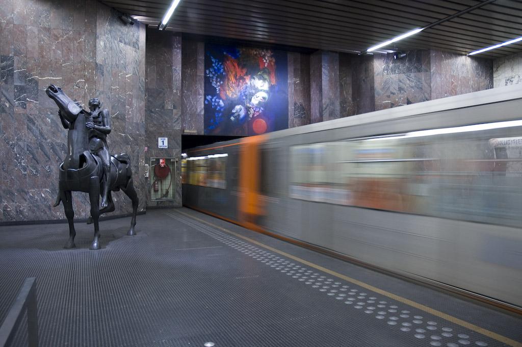 Hermann-Debroux Metro Station